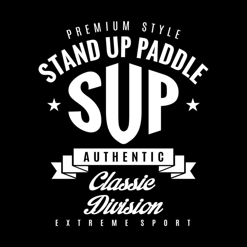 Stand Up Paddle SUP Extreme Sport Women's Longsleeve T-Shirt by Cido Lopez Shop