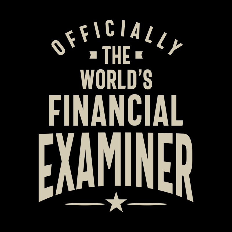 Financial Examiner Gift Funny Job Title Profession Occupation Accessories Skateboard by Cido Lopez Shop