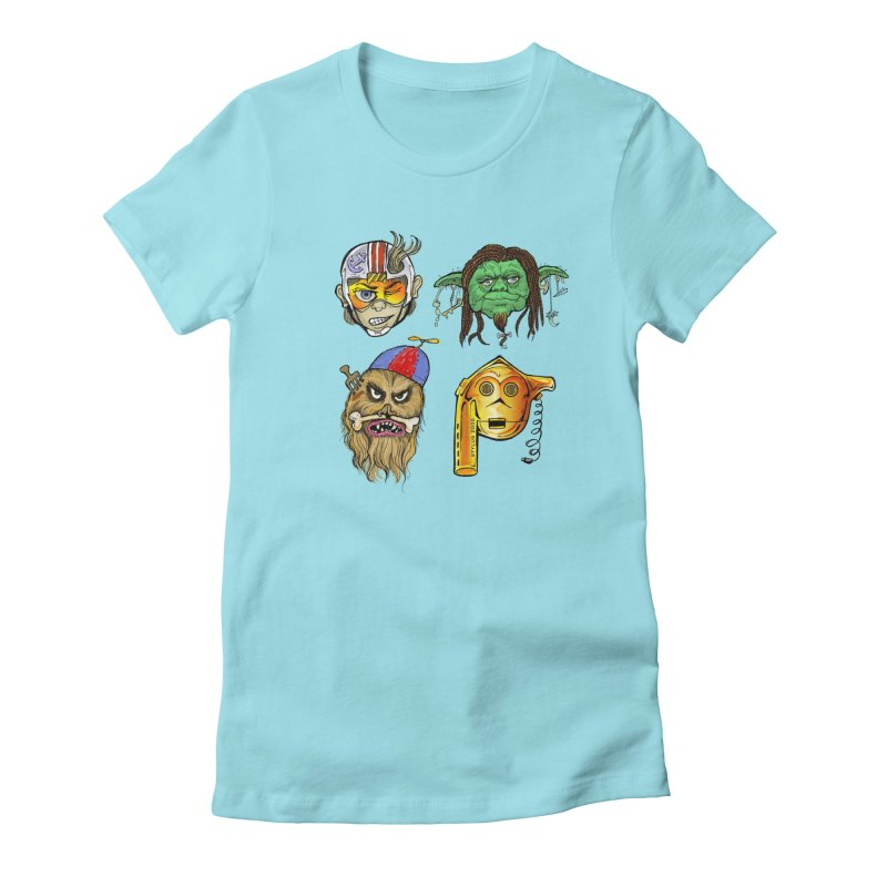 Fashion Wars Women's Fitted T-Shirt by Cincotta Designs