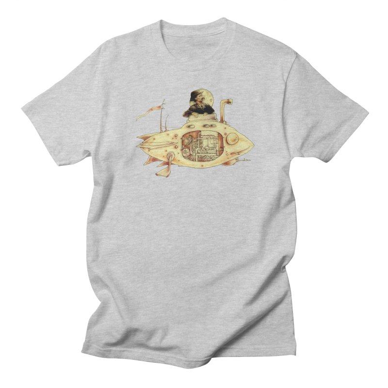 First Submarine Men's T-shirt by Cincotta Designs