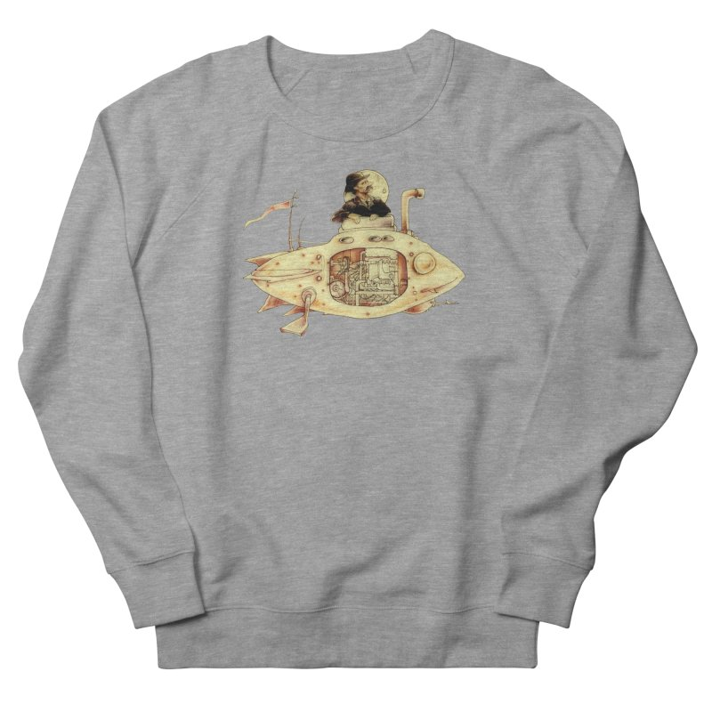 First Submarine Men's Sweatshirt by Cincotta Designs