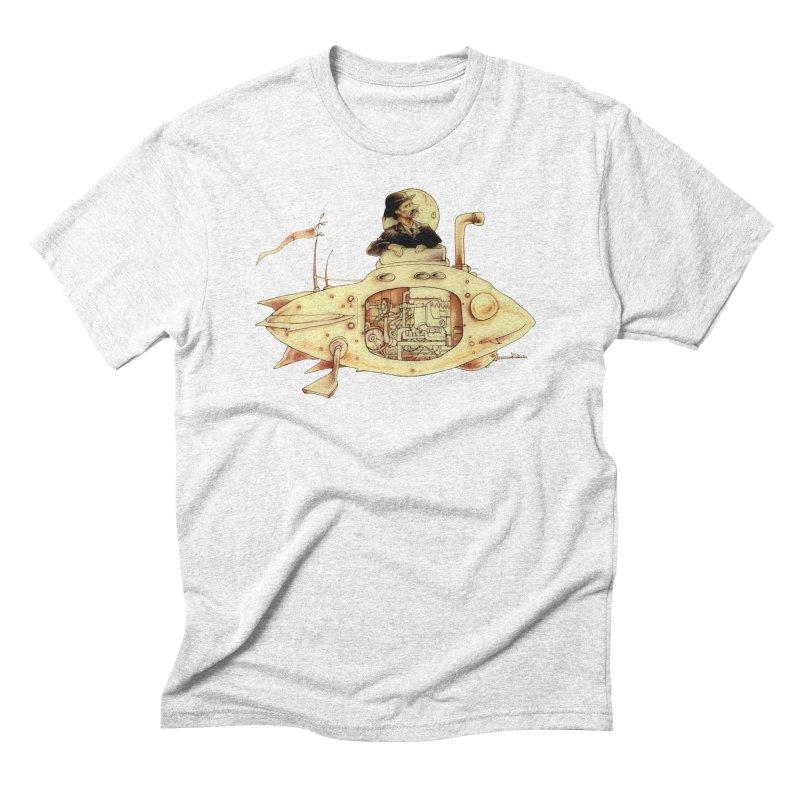 First Submarine Men's Triblend T-shirt by Cincotta Designs