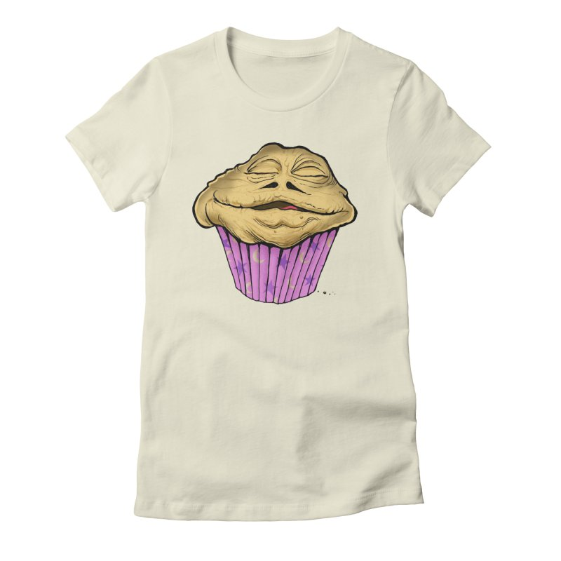 Lava the Muffin Women's Fitted T-Shirt by Cincotta Designs