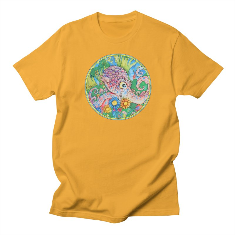Octopus Garden Men's T-shirt by Cincotta Designs