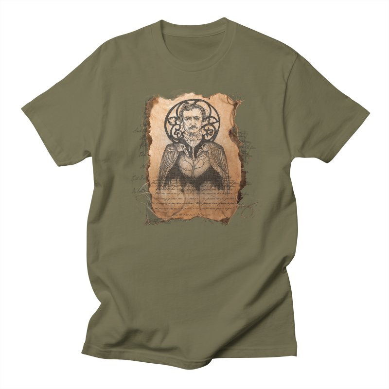 Poetic Madness Men's T-Shirt by Cincotta Designs
