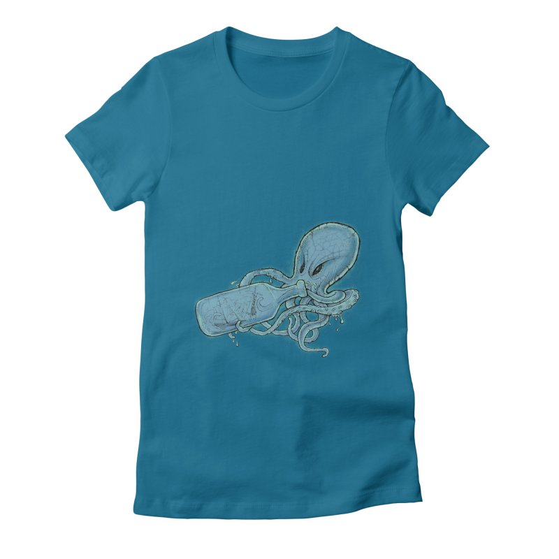 Shipwrecked Women's Fitted T-Shirt by Cincotta Designs