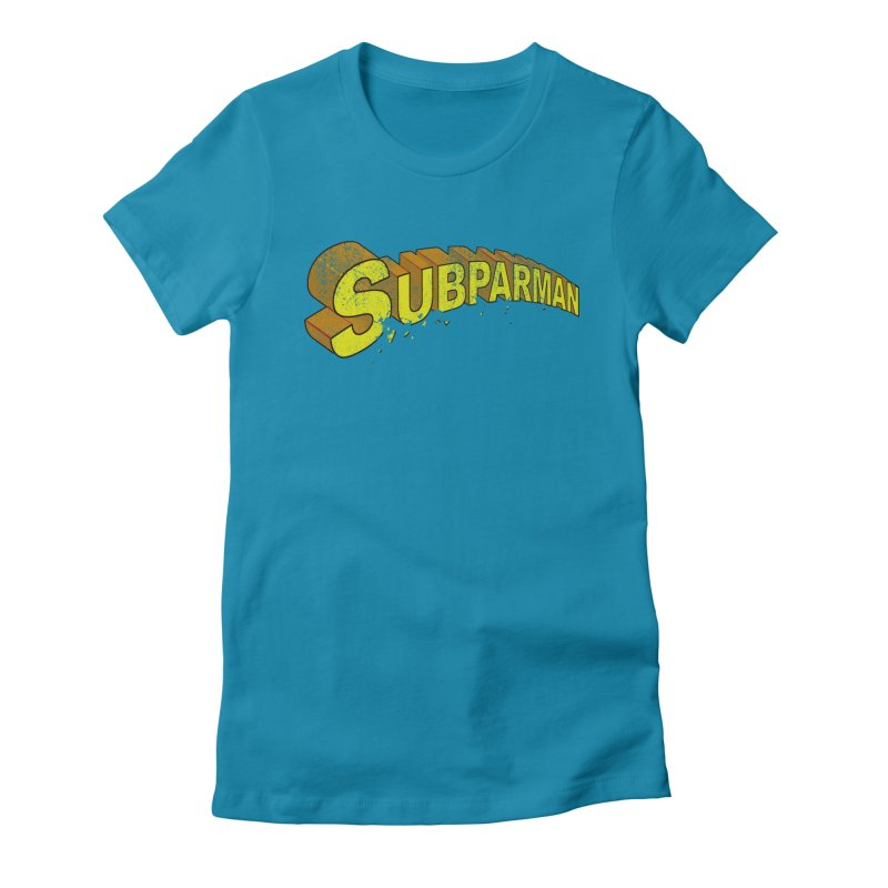Subparman Women's Fitted T-Shirt by Cincotta Designs