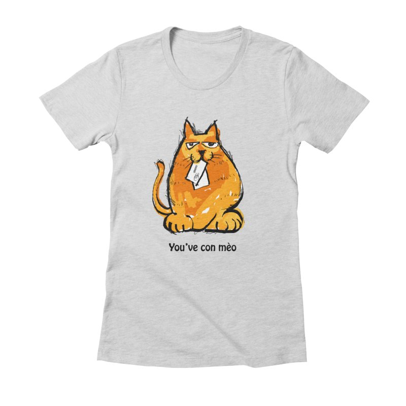 You've Con Meo Women's Fitted T-Shirt by Cincotta Designs