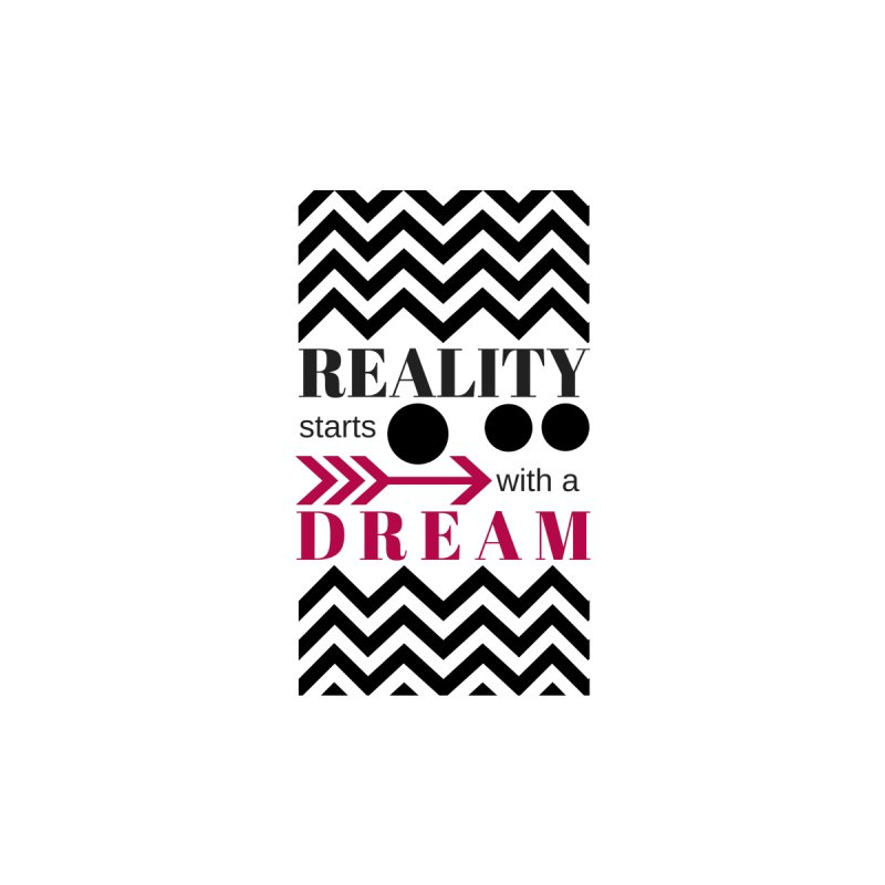 Reality Starts with a Dream Accessories Notebook by Inspirational Notebooks