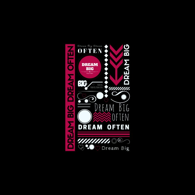 DREAM BIG DREAM OFTEN Accessories Notebook by Inspirational Notebooks
