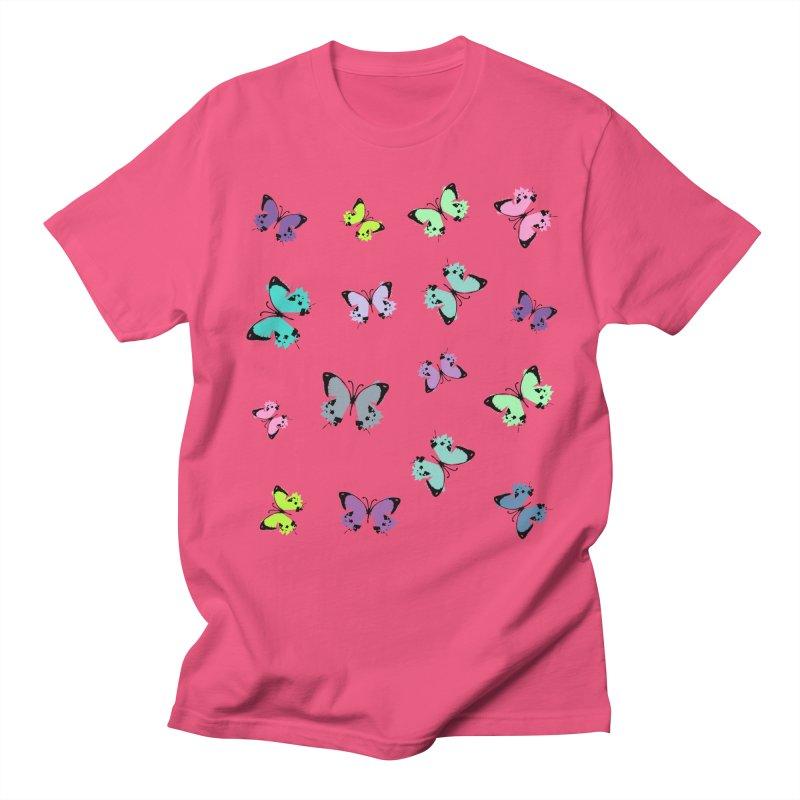 Colorful butterflies Women's Regular Unisex T-Shirt by cindyshim's Artist Shop