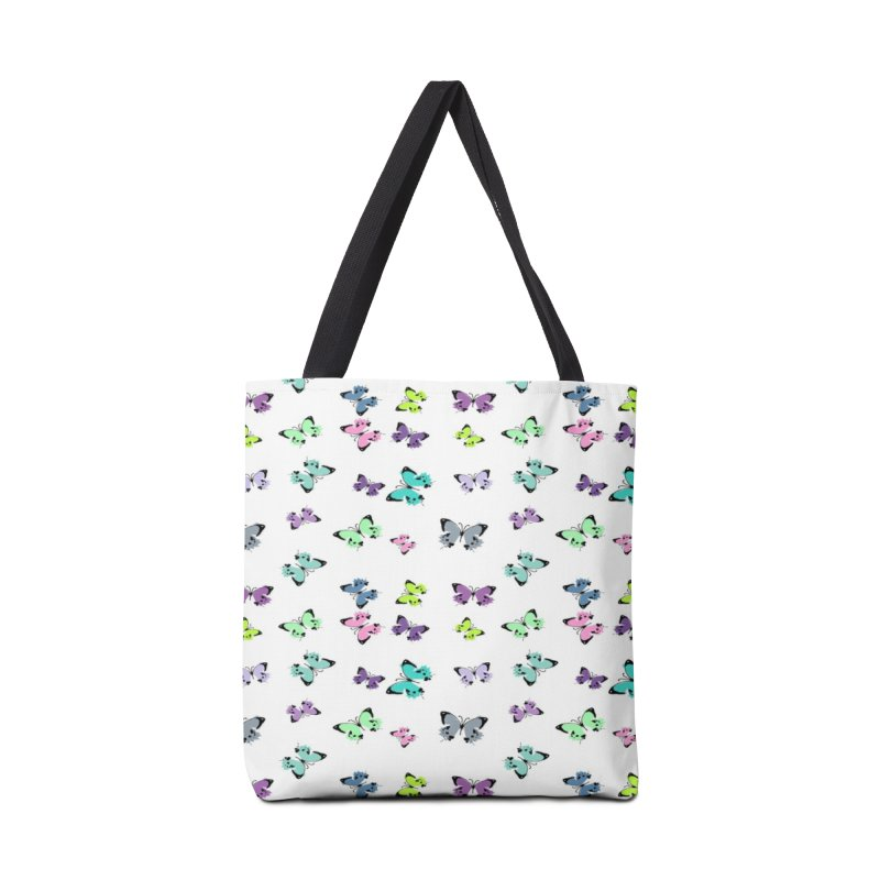 Colorful butterflies Accessories Tote Bag Bag by cindyshim's Artist Shop