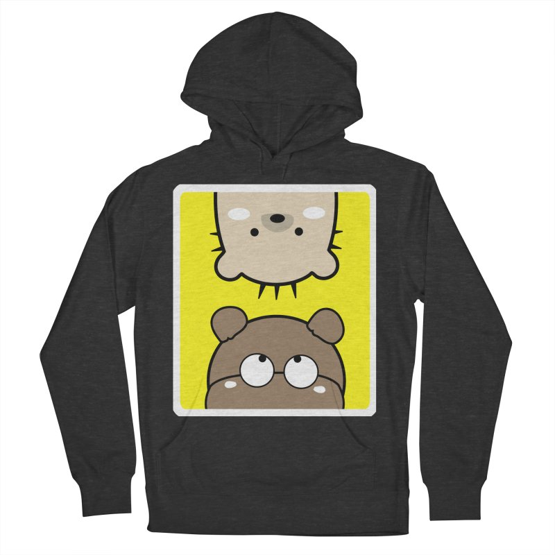 Mochie & CoCo Men's French Terry Pullover Hoody by cindyshim's Artist Shop