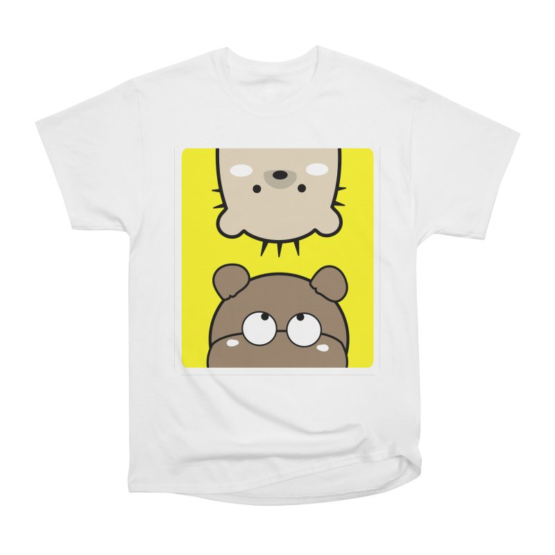 Mochie & CoCo Women's Heavyweight Unisex T-Shirt by cindyshim's Artist Shop