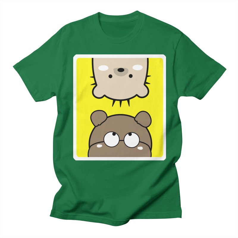Mochie & CoCo Men's Regular T-Shirt by cindyshim's Artist Shop