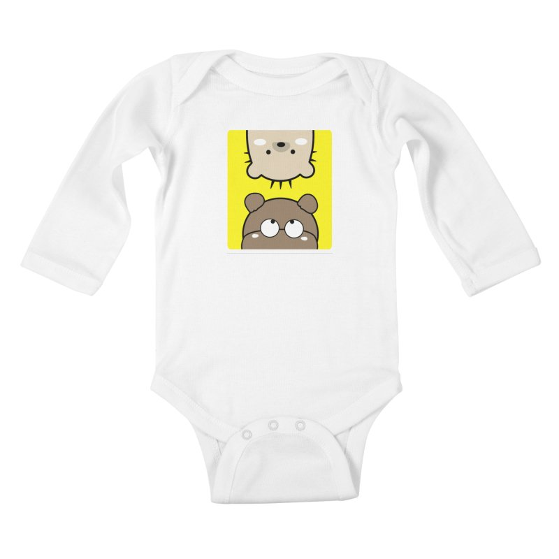 Mochie & CoCo Kids Baby Longsleeve Bodysuit by cindyshim's Artist Shop