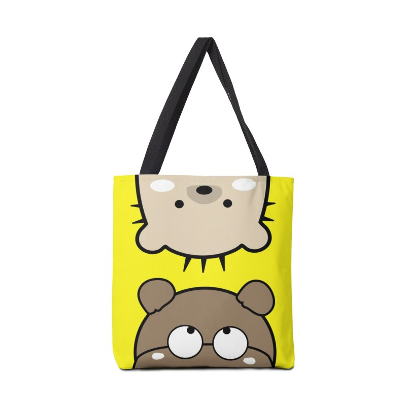 Mochie & CoCo Accessories Tote Bag Bag by cindyshim's Artist Shop