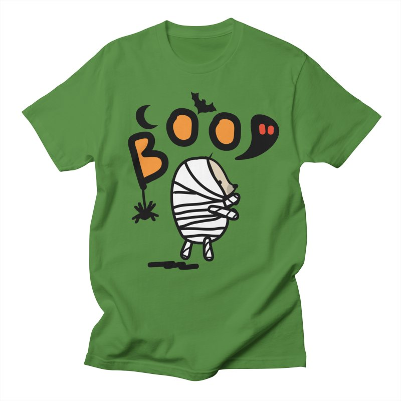 Mochie BOO Men's Regular T-Shirt by cindyshim's Artist Shop