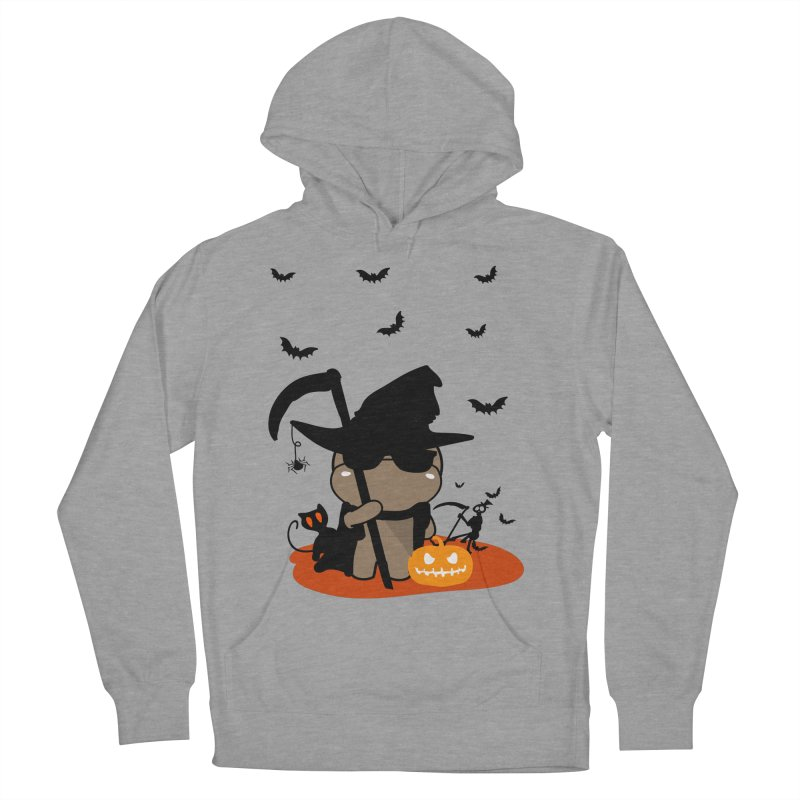 CoCo Happy Halloween Men's French Terry Pullover Hoody by cindyshim's Artist Shop