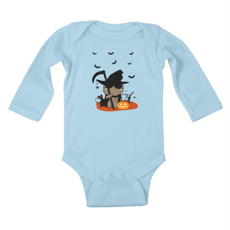 CoCo Happy Halloween Kids Baby Longsleeve Bodysuit by cindyshim's Artist Shop