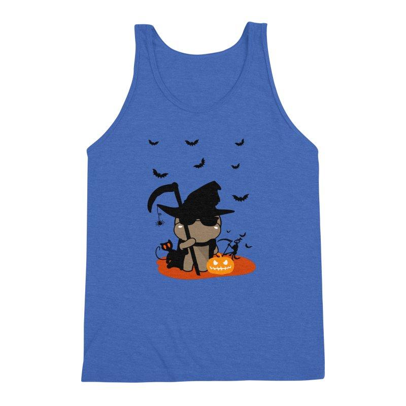 CoCo Happy Halloween Men's Triblend Tank by cindyshim's Artist Shop