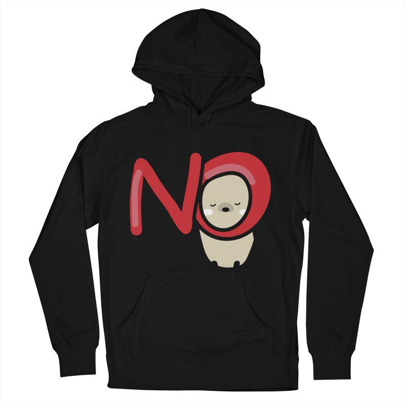 Mochie NO Men's French Terry Pullover Hoody by cindyshim's Artist Shop