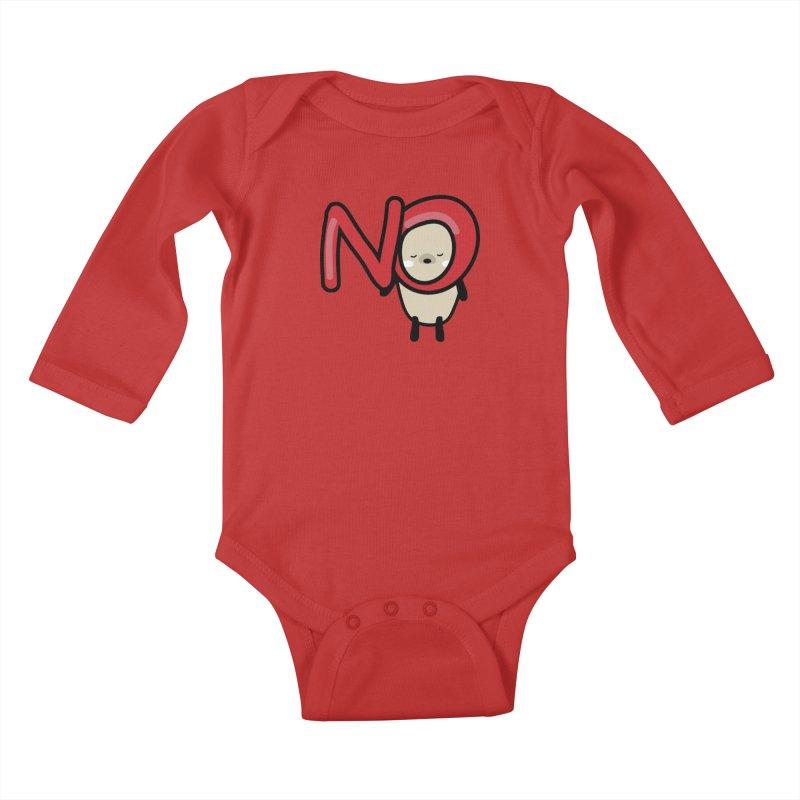 Mochie NO Kids Baby Longsleeve Bodysuit by cindyshim's Artist Shop