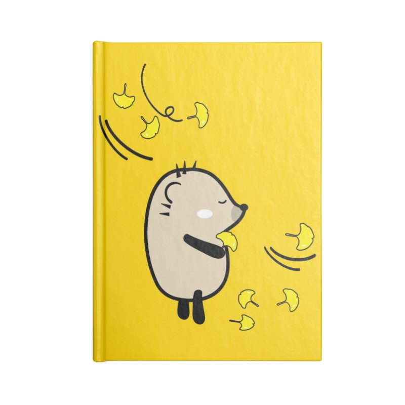 Mochie Autumn mood 2 Accessories Lined Journal Notebook by cindyshim's Artist Shop