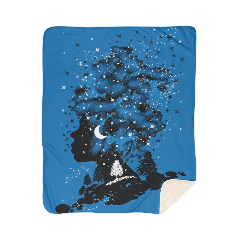 Follow your own star Home Sherpa Blanket Blanket by cindyshim's Artist Shop