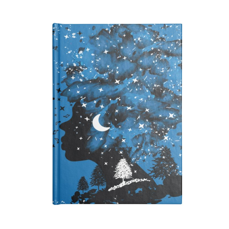 Follow your own star Accessories Lined Journal Notebook by cindyshim's Artist Shop