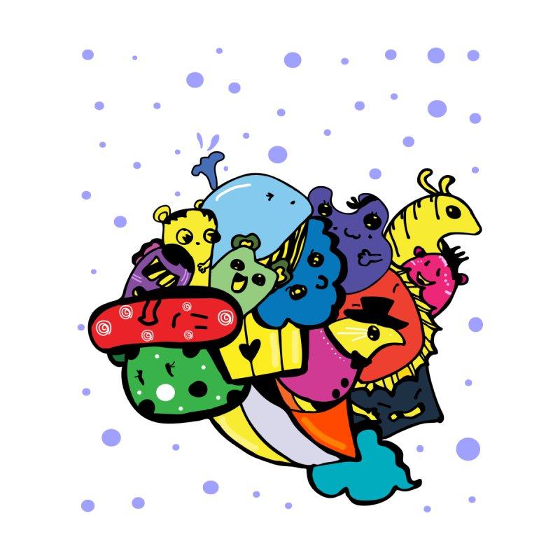 Doodle monsters by cindyshim's Artist Shop