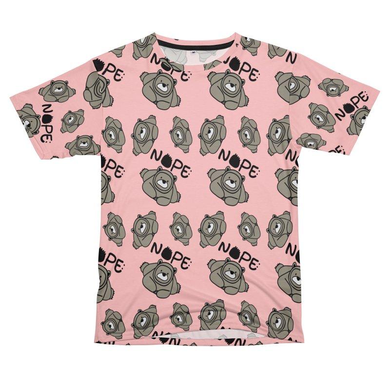 Nope Polar bear Men's T-Shirt Cut & Sew by cindyshim's Artist Shop