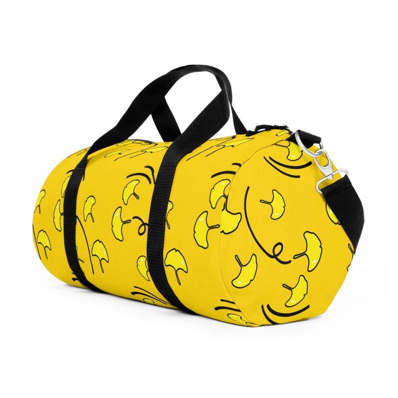 Autumn color leaves Accessories Duffel Bag Bag by cindyshim's Artist Shop