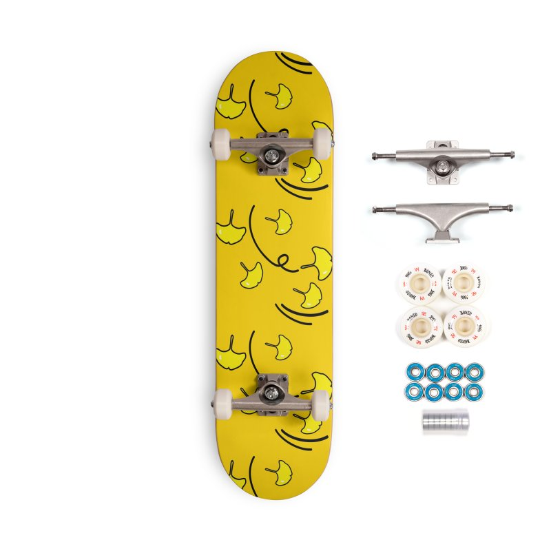 Autumn color leaves Accessories Complete - Premium Skateboard by cindyshim's Artist Shop