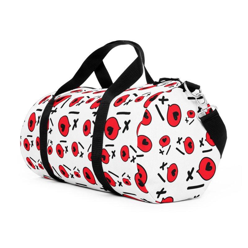 XO XO Accessories Duffel Bag Bag by cindyshim's Artist Shop