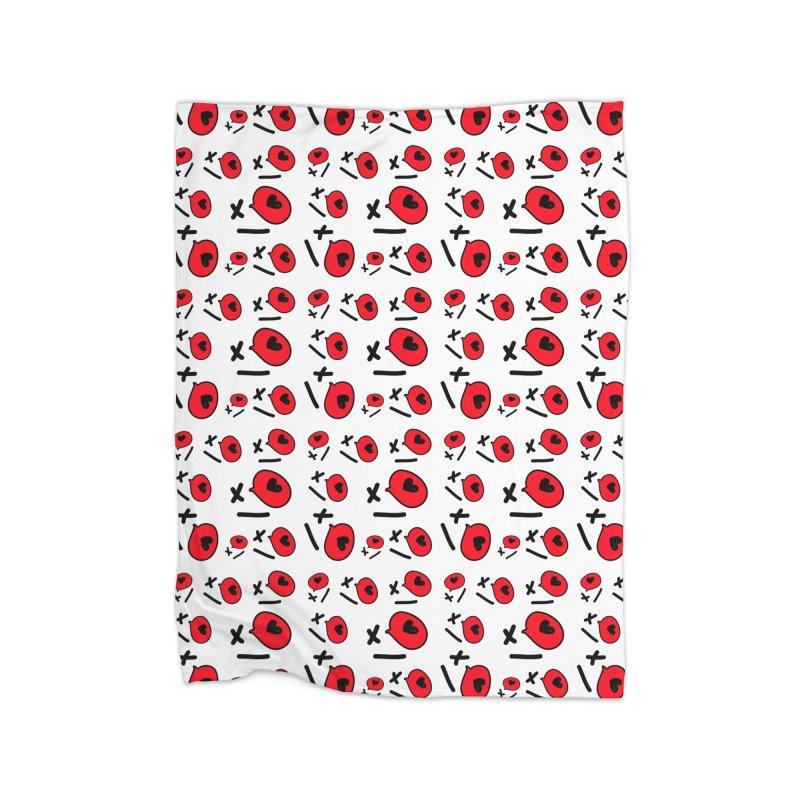 XO XO Home Fleece Blanket Blanket by cindyshim's Artist Shop