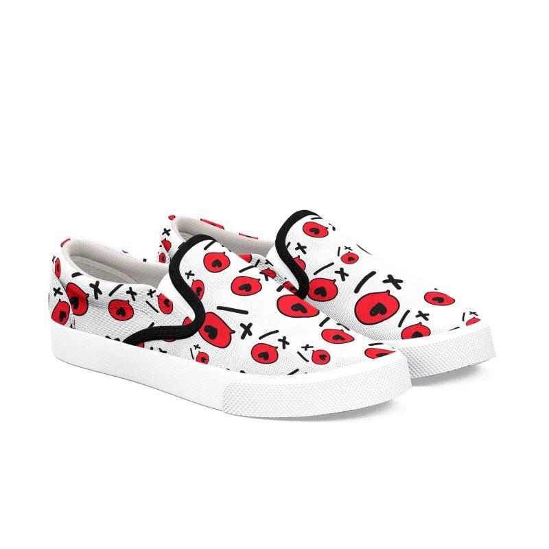 XO XO Women's Slip-On Shoes by cindyshim's Artist Shop