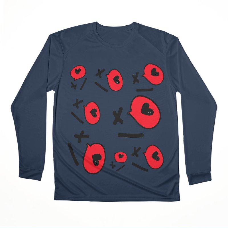 XO XO Women's Performance Unisex Longsleeve T-Shirt by cindyshim's Artist Shop