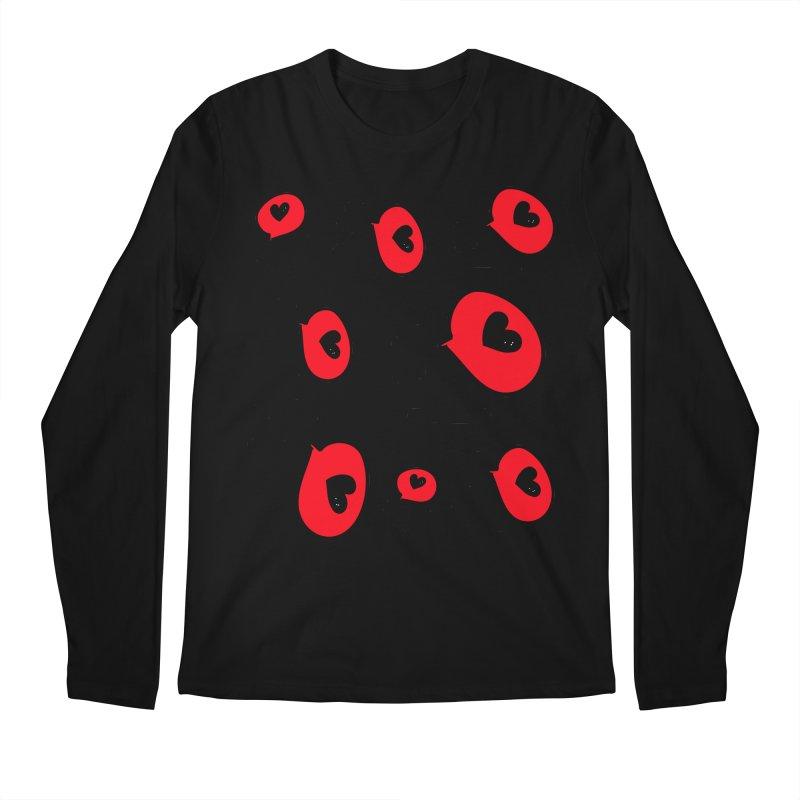 XO XO Men's Regular Longsleeve T-Shirt by cindyshim's Artist Shop