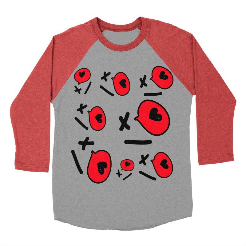 XO XO Women's Baseball Triblend Longsleeve T-Shirt by cindyshim's Artist Shop