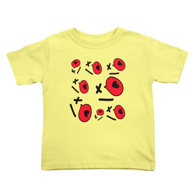 XO XO Kids Toddler T-Shirt by cindyshim's Artist Shop