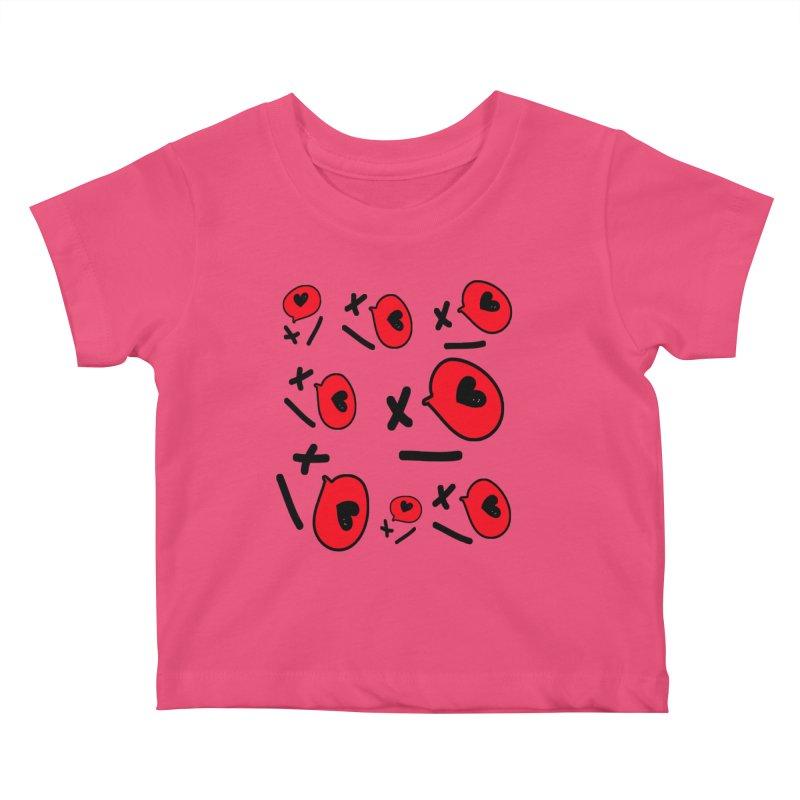 XO XO Kids Baby T-Shirt by cindyshim's Artist Shop