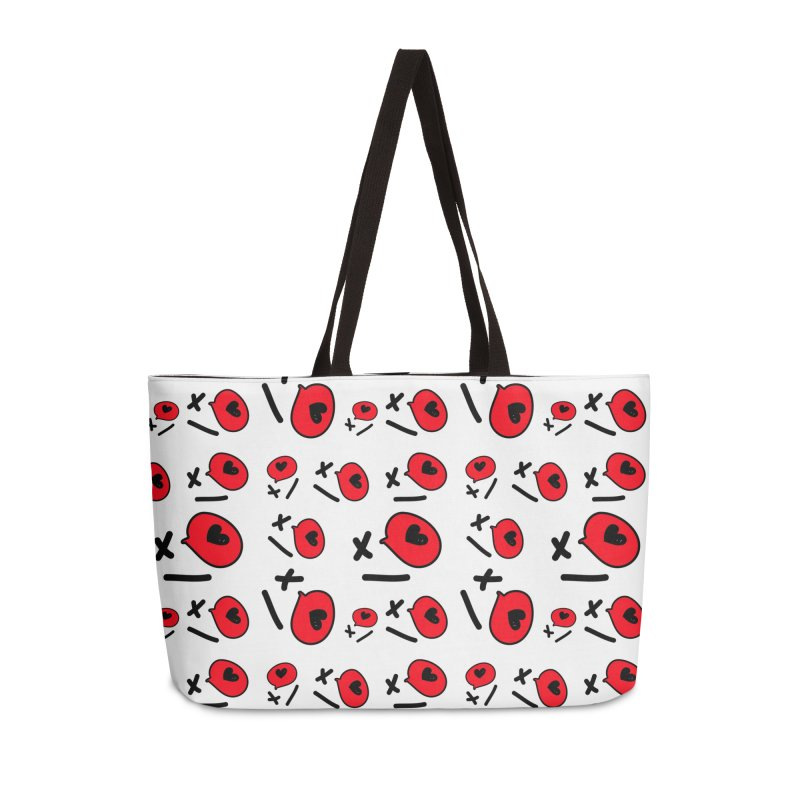 XO XO Accessories Weekender Bag Bag by cindyshim's Artist Shop