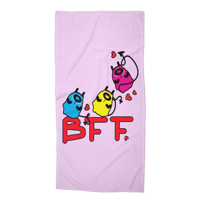 BFF MONSTERS Accessories Beach Towel by cindyshim's Artist Shop