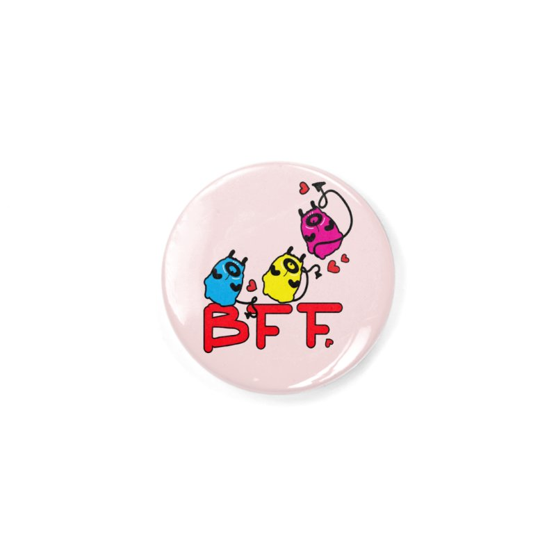 BFF MONSTERS Accessories Button by cindyshim's Artist Shop