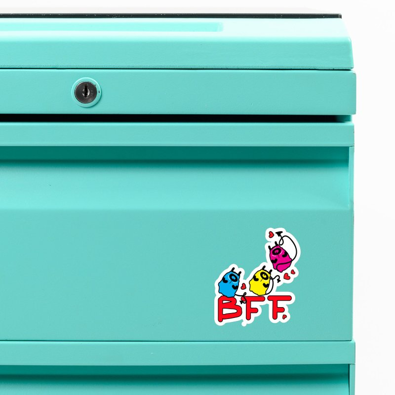 BFF MONSTERS Accessories Magnet by cindyshim's Artist Shop