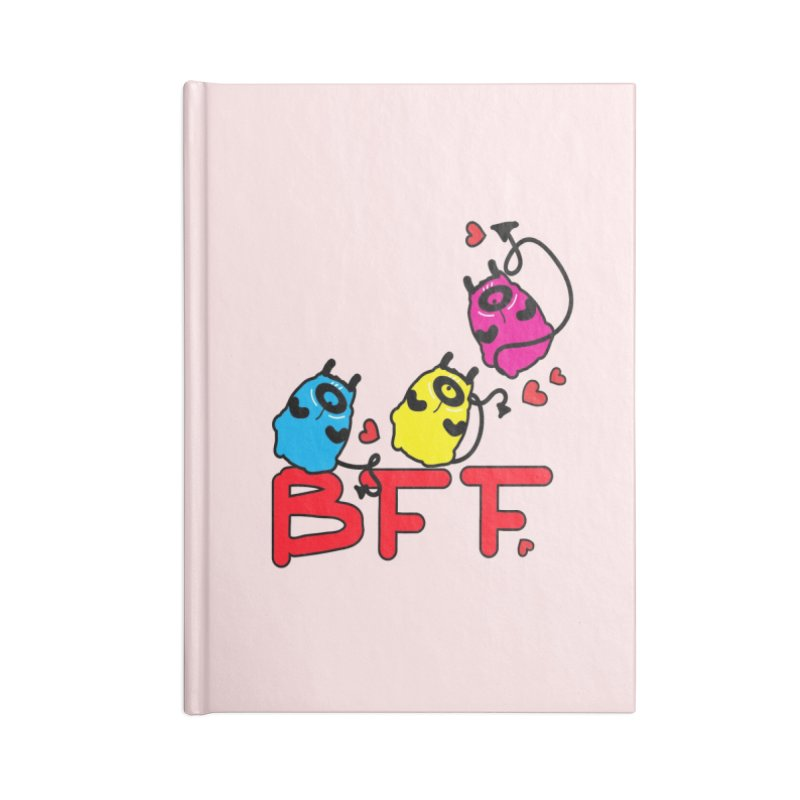 BFF MONSTERS Accessories Blank Journal Notebook by cindyshim's Artist Shop