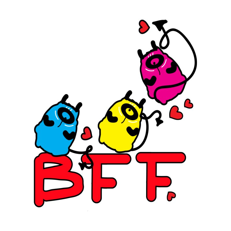 BFF MONSTERS by cindyshim's Artist Shop