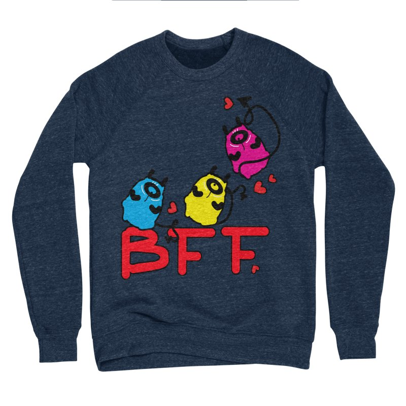 BFF MONSTERS Women's Sponge Fleece Sweatshirt by cindyshim's Artist Shop