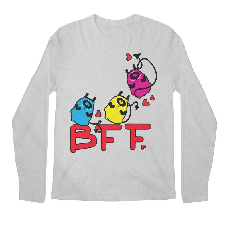 BFF MONSTERS Men's Regular Longsleeve T-Shirt by cindyshim's Artist Shop